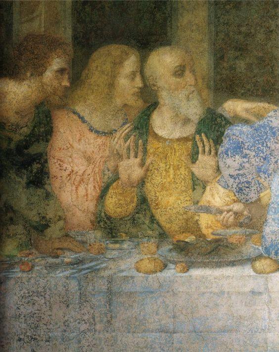Ultima Cena (detail) Convent of Santa Maria delle Grazie, Milan
