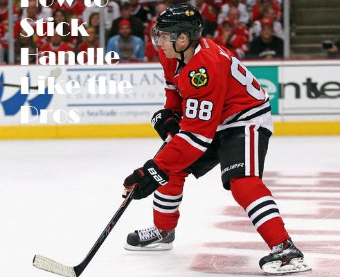how to stick handle in hockey