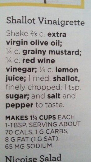 Good Housekeeping Shallot Vinaigrette
