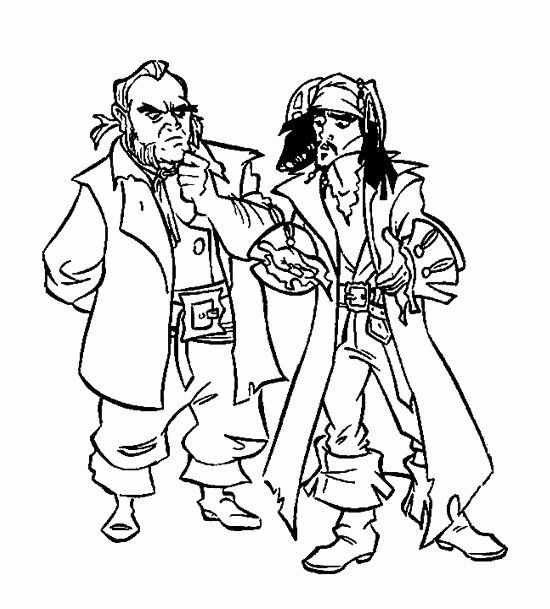 Pirates Of The Caribbean Coloring Page Luxury Jack And The Pirates The Caribbean Coloring Page For