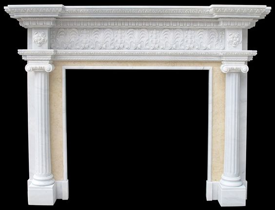Marble Fireplace Surround Sale Travertine Italian