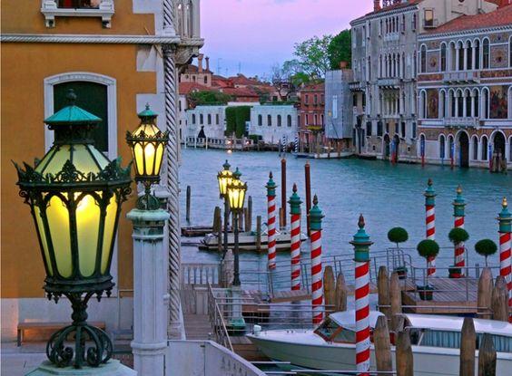 Venetian lanterns, William Carr