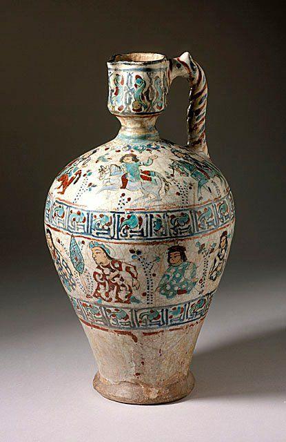 Iran. Ewer. late 12th-early 13th century.