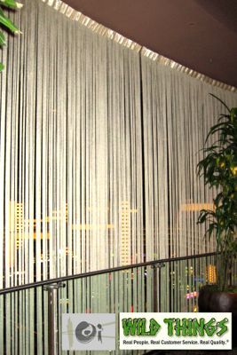 String Curtain Gold 18 Strings Per Inch - 36