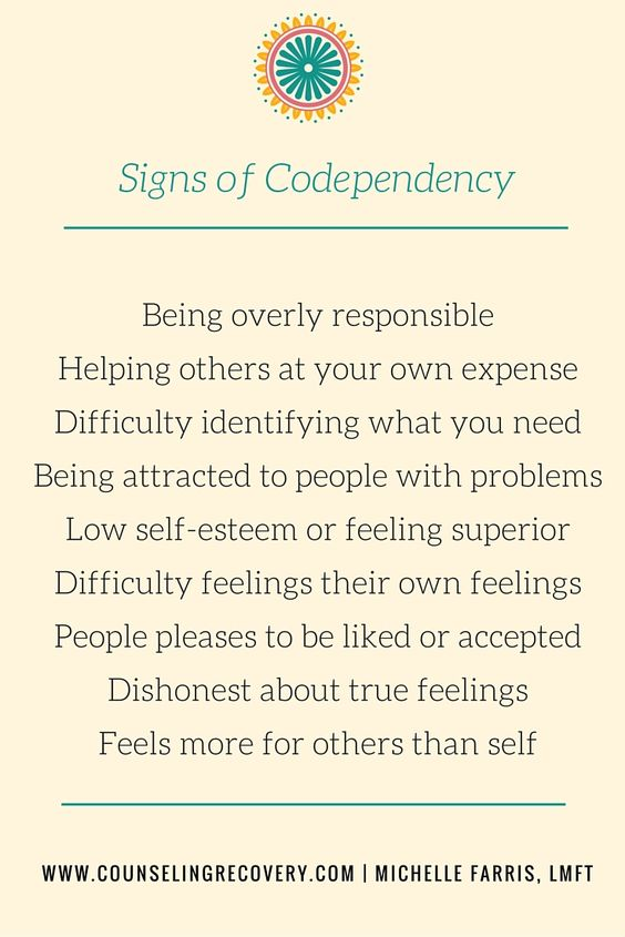 the definition of codependency