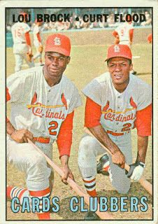 1967 Topps Baseball: Cards Clubbers (#63)