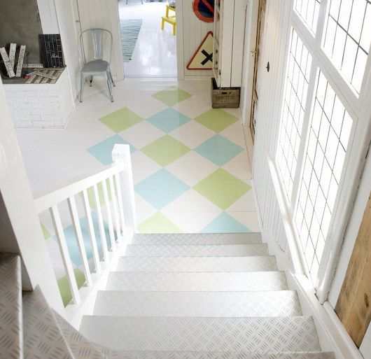 painted floor #floor