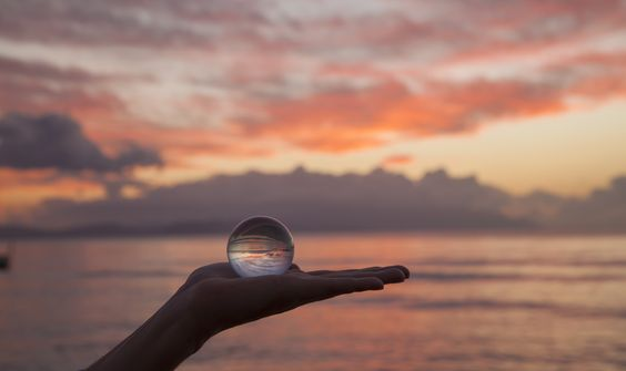 Sunset with Sphere by Ibrahim Pınar on 500px