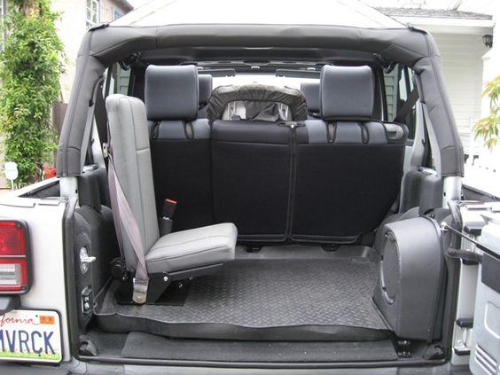 third row jump seat jeep wrangler jk forum jeep pinterest a 4 vehicles. Black Bedroom Furniture Sets. Home Design Ideas
