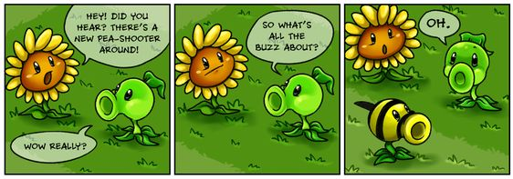 Punny Sunny - Plants vs Zombies - 2 by Nestly.deviantart.com on @DeviantArt