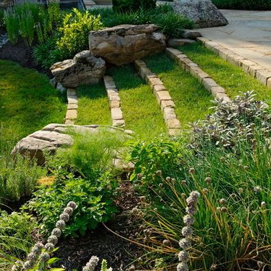 terrace for sloping backyard garden pinterest backyards terrace