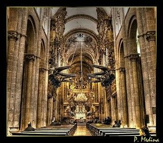 Interior Catedral Santiago de Compostela