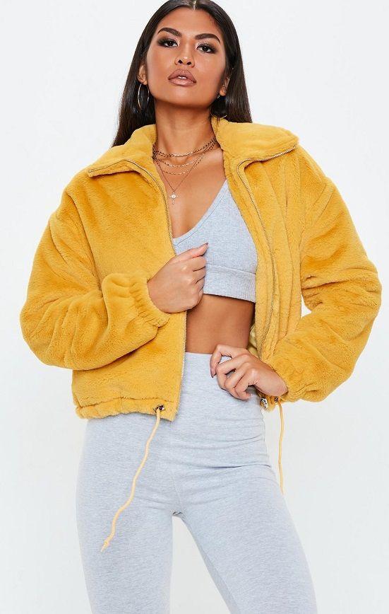 Faux Fur Bomber Jackets For Women Faux Fur Bomber Jacket Faux Jacket Outfit Fur Coats Women