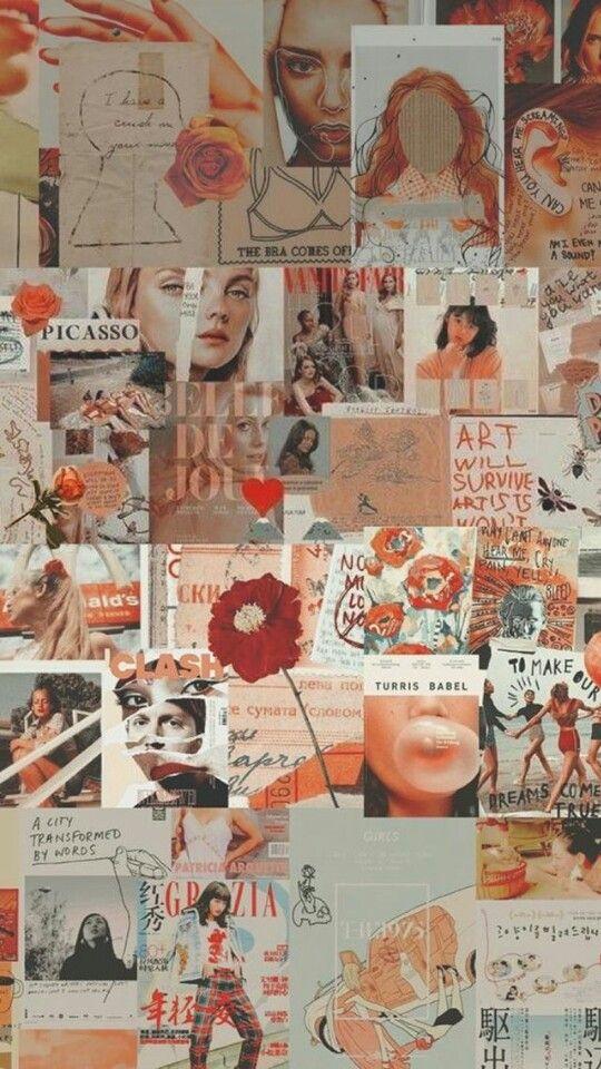 Wallpaper Tumblr Collage Aesthetic