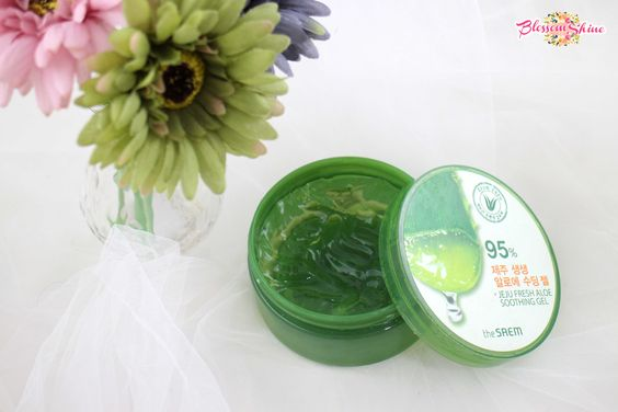 Holy grail Skincare 6 - The Saem Aloe Vera Soothing Gel 95%