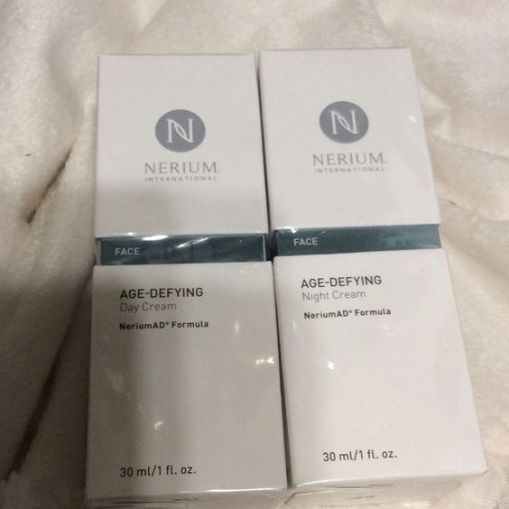 Nerium Age Defying System New in box sealed, instructions on back of packaging no low balling please, everyone knows the value of product, reasonable offers only, priced to sell Nerium Makeup