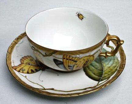 Antique Forest Leaves Dinnerware by Anna Weatherley