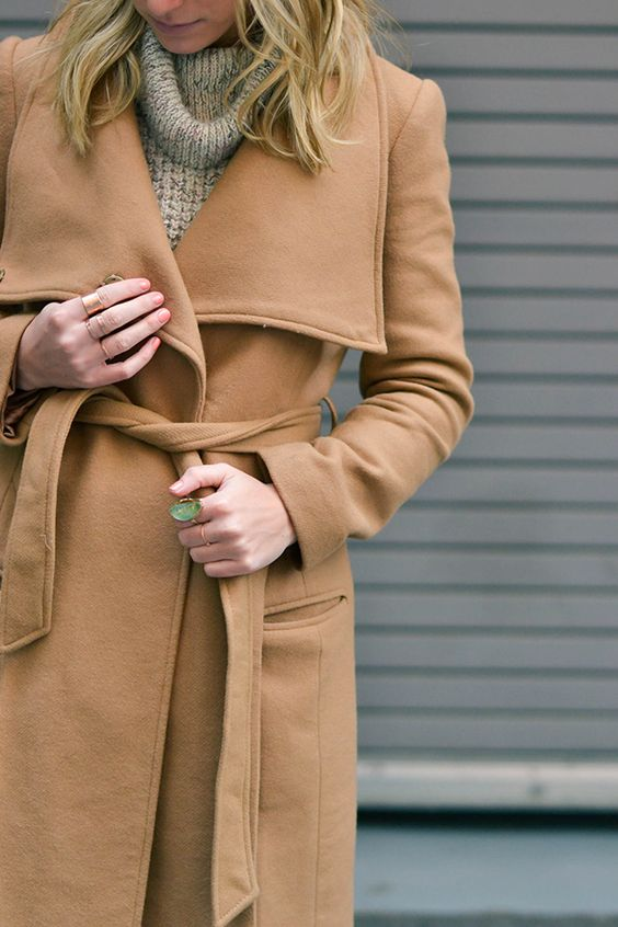 Keep warm and cozy with the perfect brown jacket. | brown color inspiration