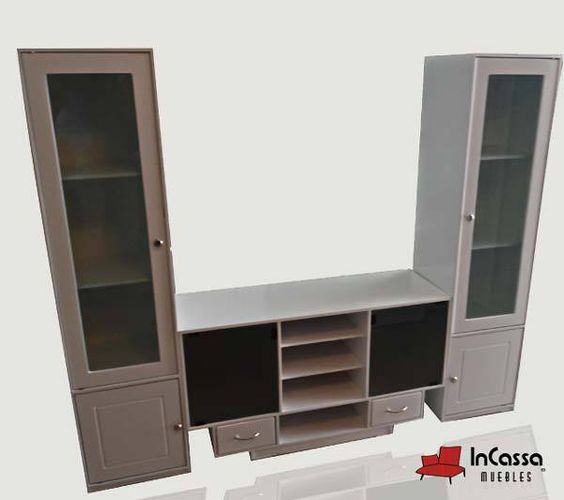 Centro de entretenimiento minimalista mod king armor for Mueble de entretenimiento
