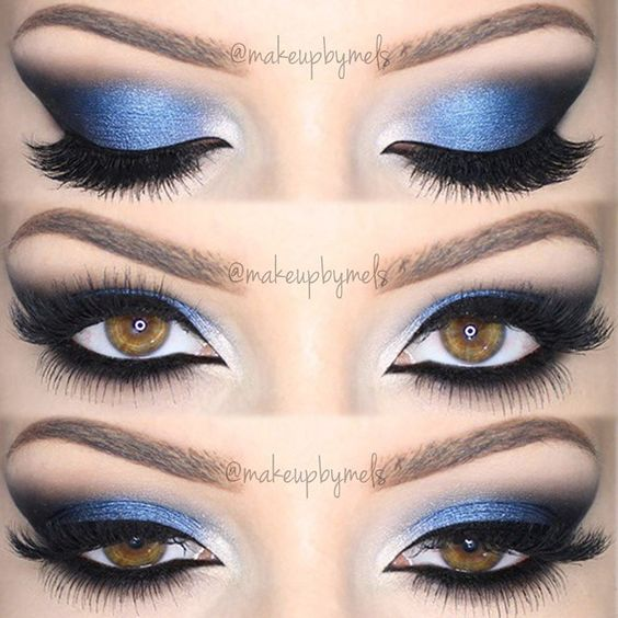 how to make your eyes look bluer