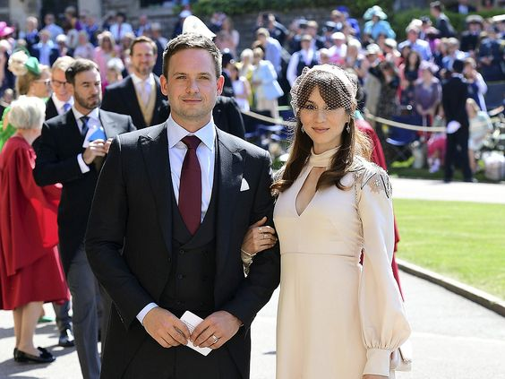 Patrick J Adams Wants His Daughter To Have Playdate With New Royal Baby In 2020 Prince Harry And Meghan Prince Harry Wedding Troian Bellisario