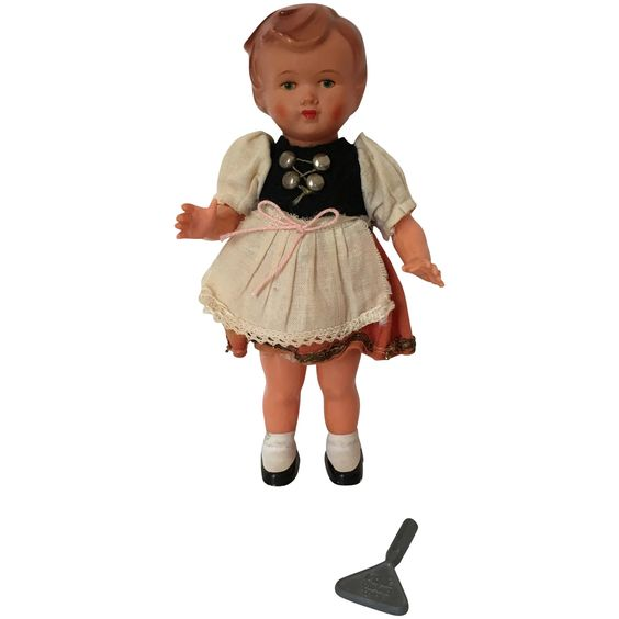 Geman Character Doll Dancing wind up