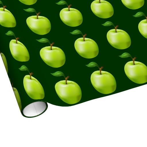 Apples Wrapping Paper - Aug 27