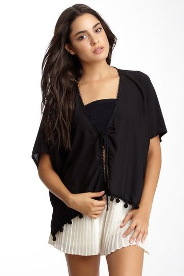 Embellished Poncho by Lucy Love on @HauteLook