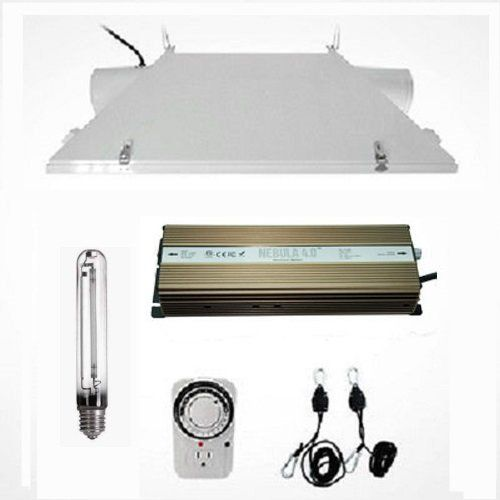 Hydro Crunch 1000W Grow Light Digital Dimmable HPS System for Plant  6 XXXL Air Cooled Reflector Set >>> Check out the image by visiting the link.
