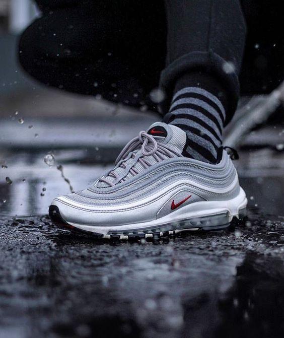 Order Cheap Nike AIR MAX 97 Silver Bullet OG QS #sneakers