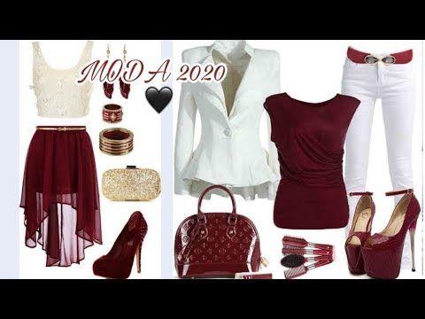 Moda 2020 Hermosos Outfits Color Burdeos O Granate Moda Mujer 2020 Tendencias Youtube En 2020 Moda Para Mujer Moda Tendencias Ropa