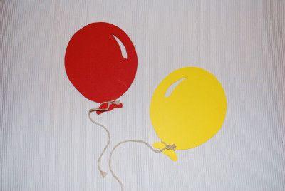 selbstgebastelte Luftballons