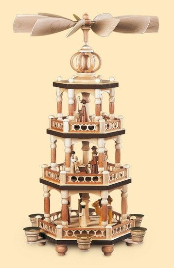 3-tier pyramid - The Christmas Story - 52 cm / 20 inch