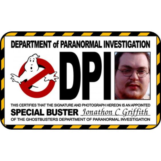 Ghostbusters ID Badge template From ID Card Maker Online ...