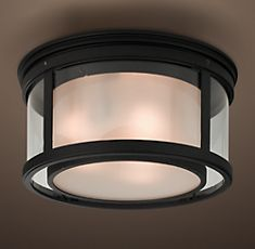 Love the unique double layer look of this outdoor light. #GElighting