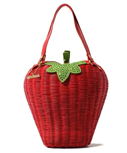 strawberry bag: