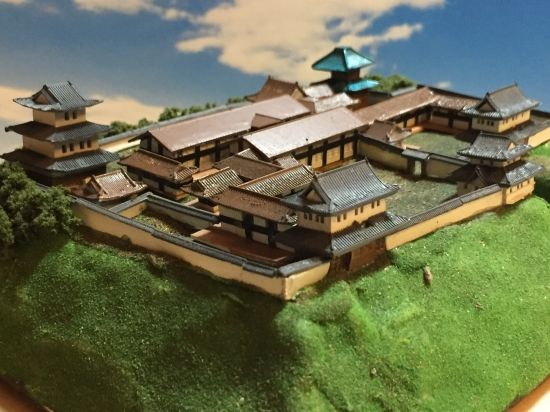 日本100名城 ジオラマ模型 在りし日のお城を復元します コンセプト