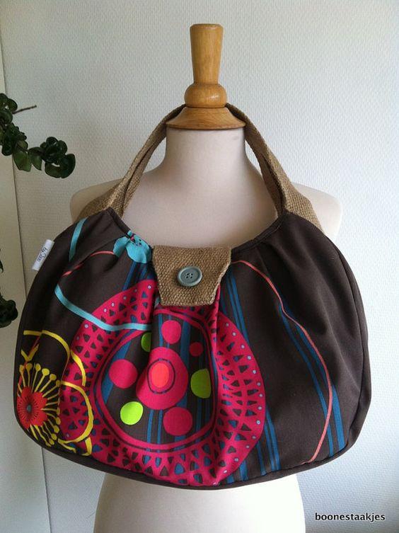 retro style shoulder bag diaper bag by boonestaakjes on Etsy, $59.00