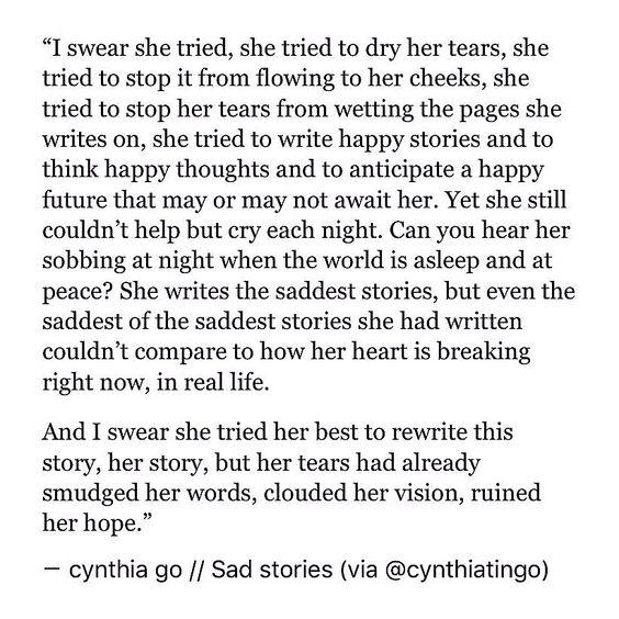 Feeling Sad Quotes Pain
