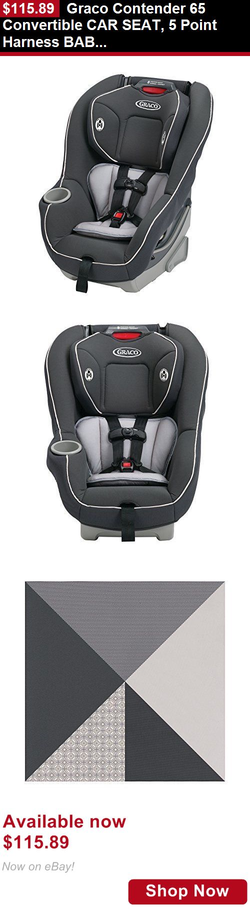 Convertible Car Seat Graco Contender 65 5 Point Harness Baby