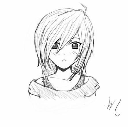 Pin On Anime Girl Drawings