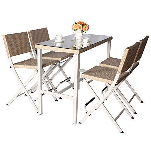 Foldable Patio Furniture Set