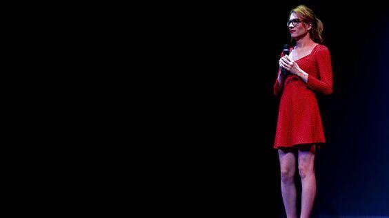Elsa Ruiz en una actuación teatral. E.R.