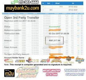 Swin888 Online Casino Malaysia Swin888 Players Winner List On October 2017 Scr888 Joker123 Sky777 Niuniubet Sky99 Lpe88 Gw99 Aplikasi Uang