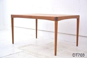 H W Klein design teak dining table BRAMIN