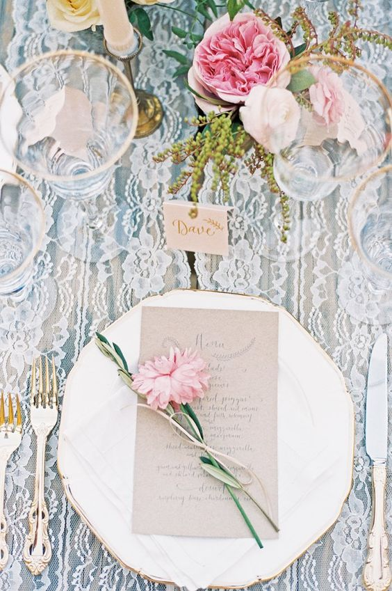 wedding reception decor idea; photo: Khanh Hogland Photography: