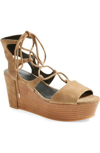 Rebecca Minkoff 'Cady' Wedge Sandal (Women) available at #Nordstrom  Size 7.5 #4 on the list!!