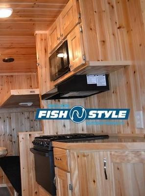 Ice fishing house ice and fishing on pinterest for Yetti fish houses