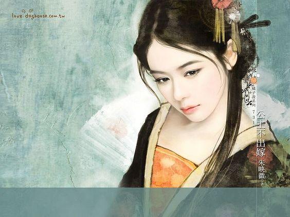 Graceful Ancient Chinese Girl Wallpaper 25   Asian art ...