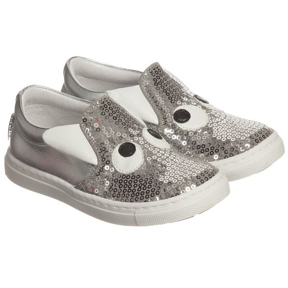 Step2wo Silver Sequin 'Boggle Girl' Slip-On Shoes at Childrensalon.com